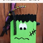 Easy Frankenstein Craft