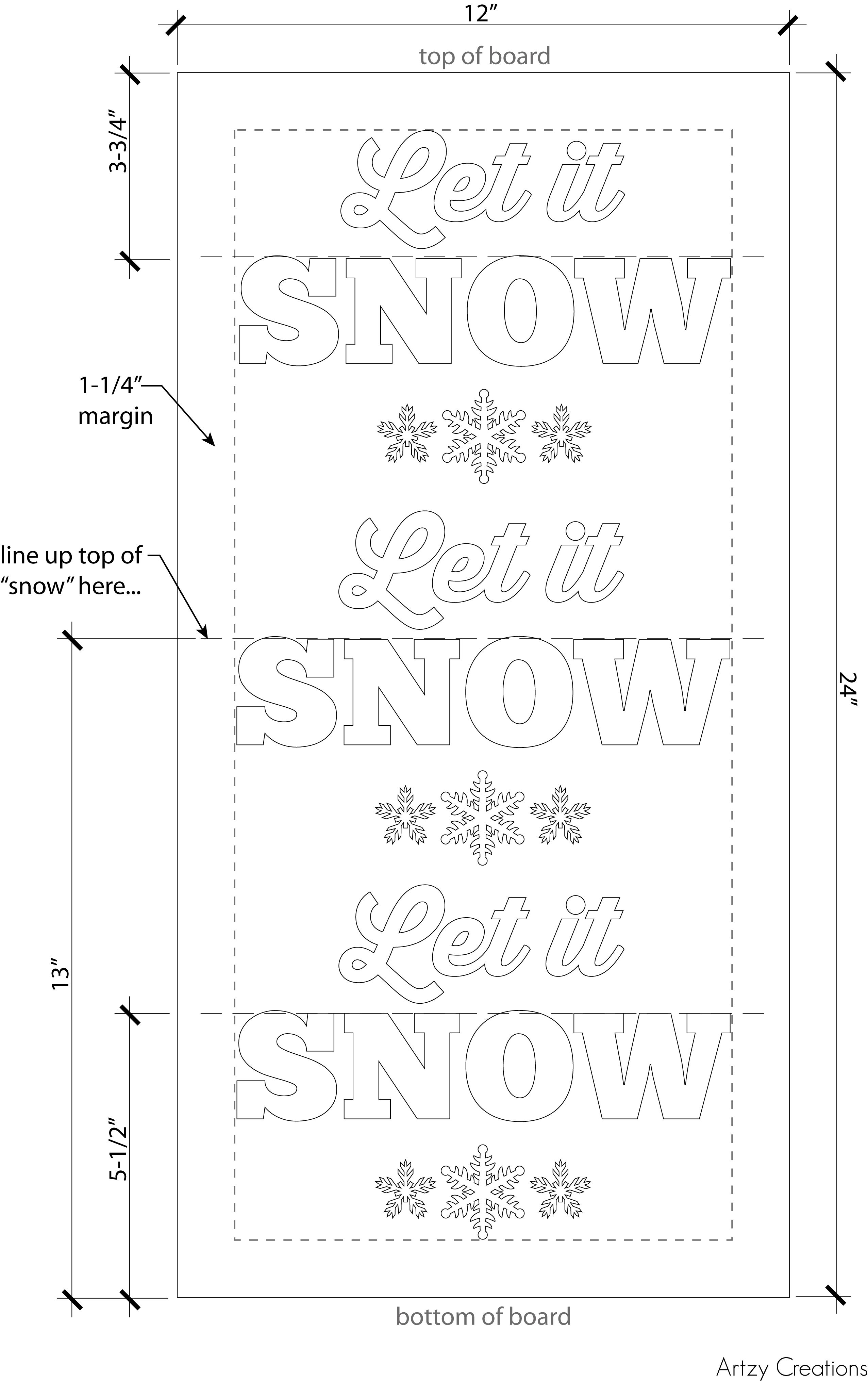 Let it Snow_Layout