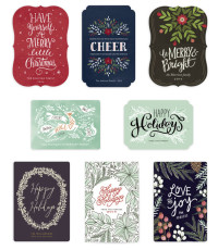 Minted Holiday Card-Artzy Creations