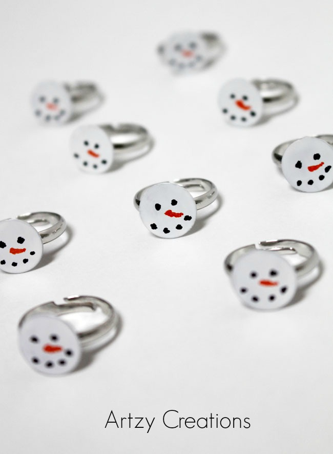 Simple-Snowmen-Rings-Artzy Creations 6