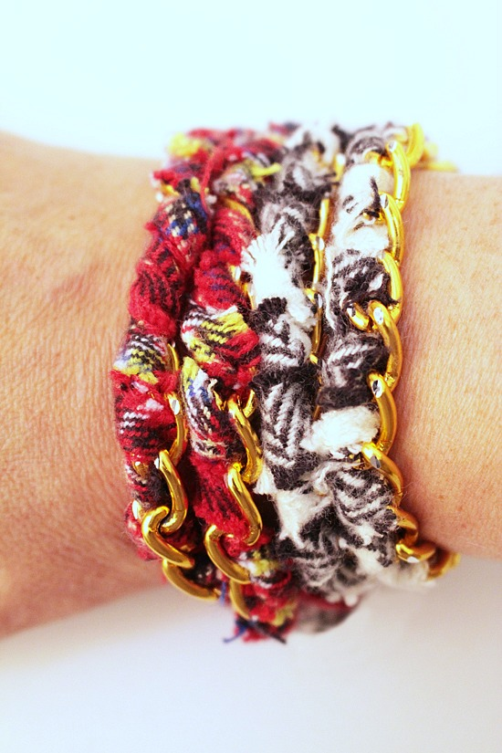 Anthro-Inspired-Flannel-Wrapped-Bracelets-Main 3