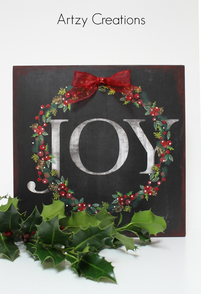 DIY-Joy-Sign-Artzy Creations 6
