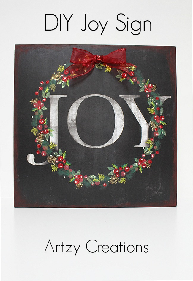 DIY-Joy-Sign-Artzy Creations