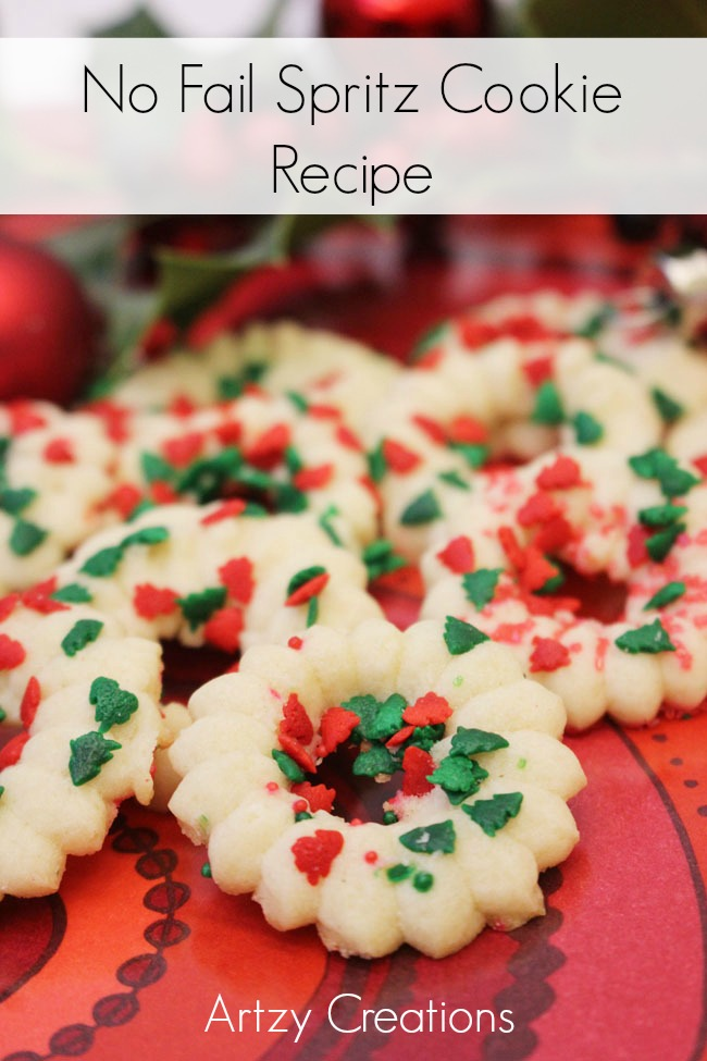 No-Fail-Spritz-Cookie-Artzy Creations
