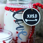 DIY Vanilla Heart Candle