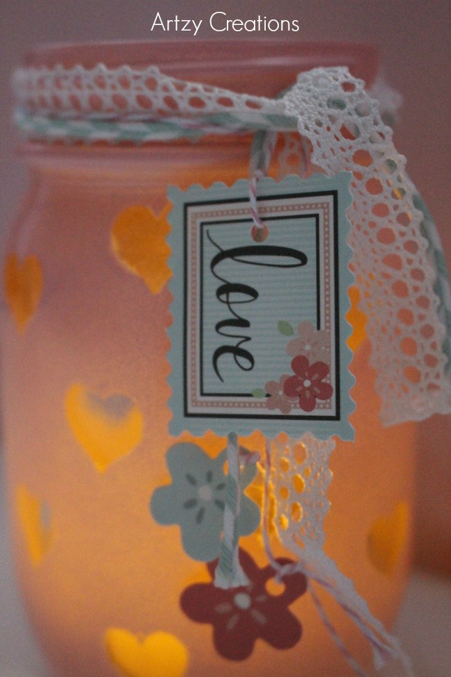 Easy-DIY-Valentine's Day-Votive-Artzy Creations 6