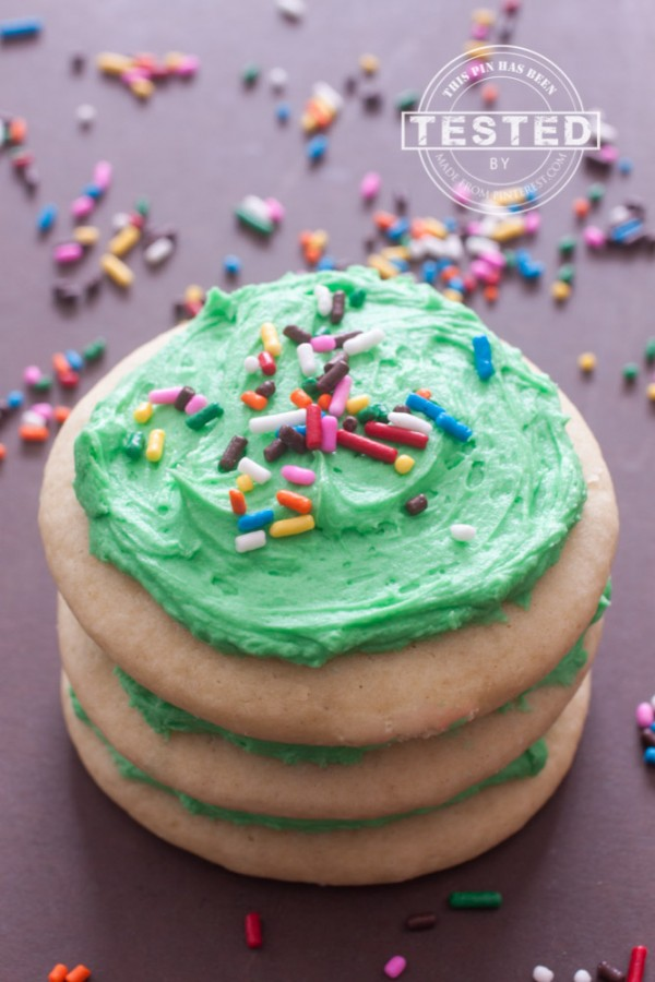 Soft Lofthouse Style Sugar Cookie by Made From Pinterest