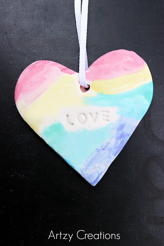 Watercolor-Hearts-For-Kids-Artzy Creations 5