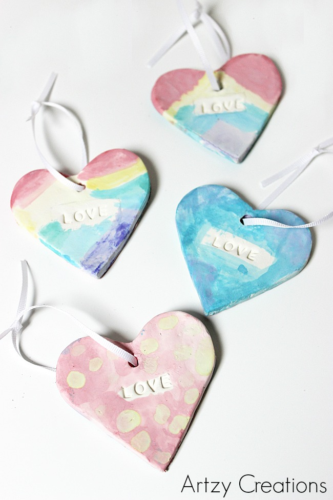 Watercolor-Hearts-For-Kids-Artzy Creations 6