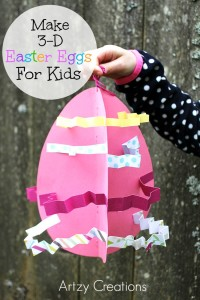 3-D Eggs For Kids Artzy Creations 6a