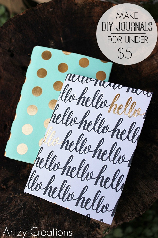 DIY-Journal-for-Under-$5-Artzy Creations 1