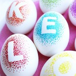 Decorate Eggs with Markers