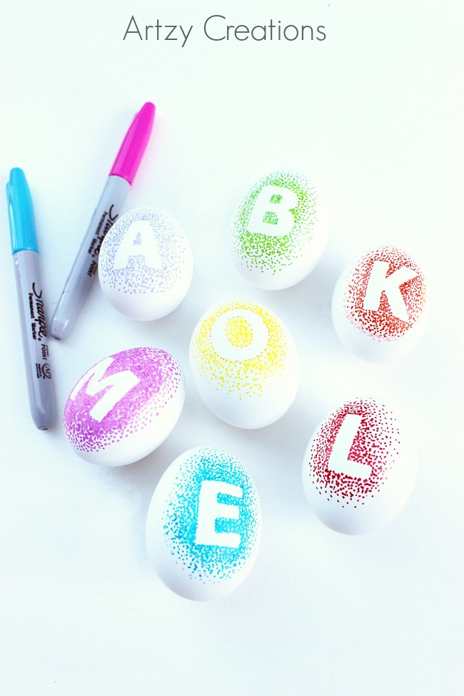 Decorate-Eggs-With-Sharpie-Markers-Artzy Creations 3