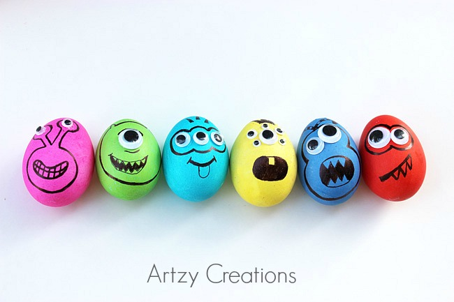Monster-Easter-Eggs-Artzy Creations2