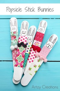 Popsicle-Stick-Bunnies-Artzy Creations 1
