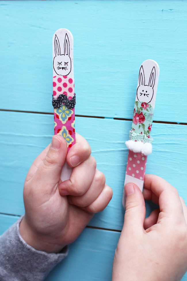 Popsicle-Stick-Bunnies-Artzy Creations 3