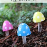 Recycled Plastic Egg Toadstools