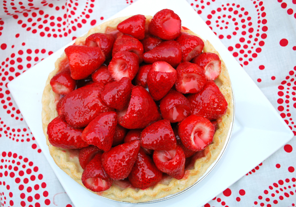 how to make strawberry pie filling with frozen strawberries