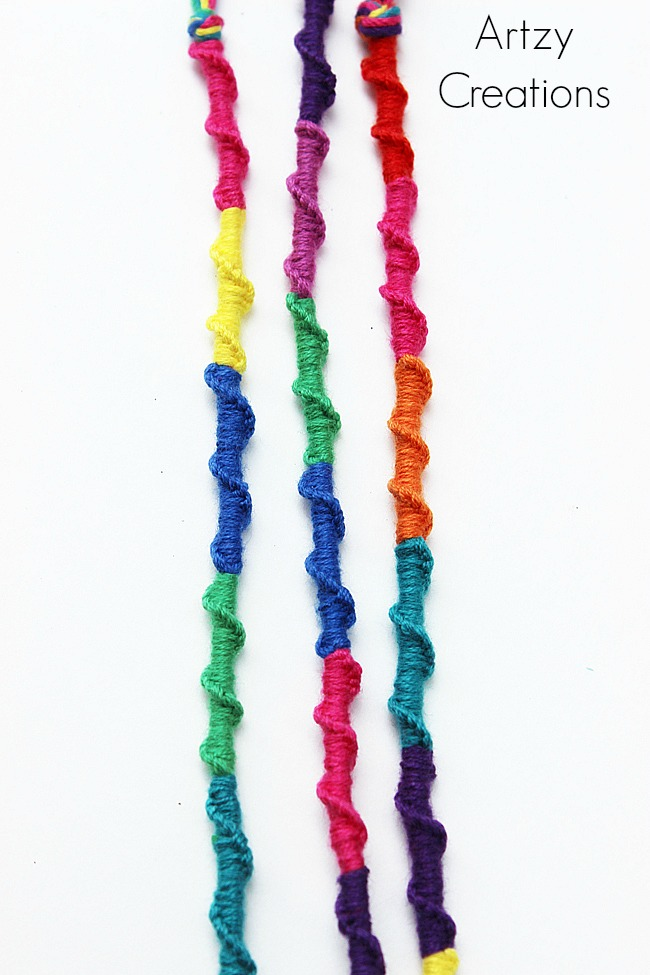 Chinese-Ladder-Friendship-Bracelets 4-Artzy Creations