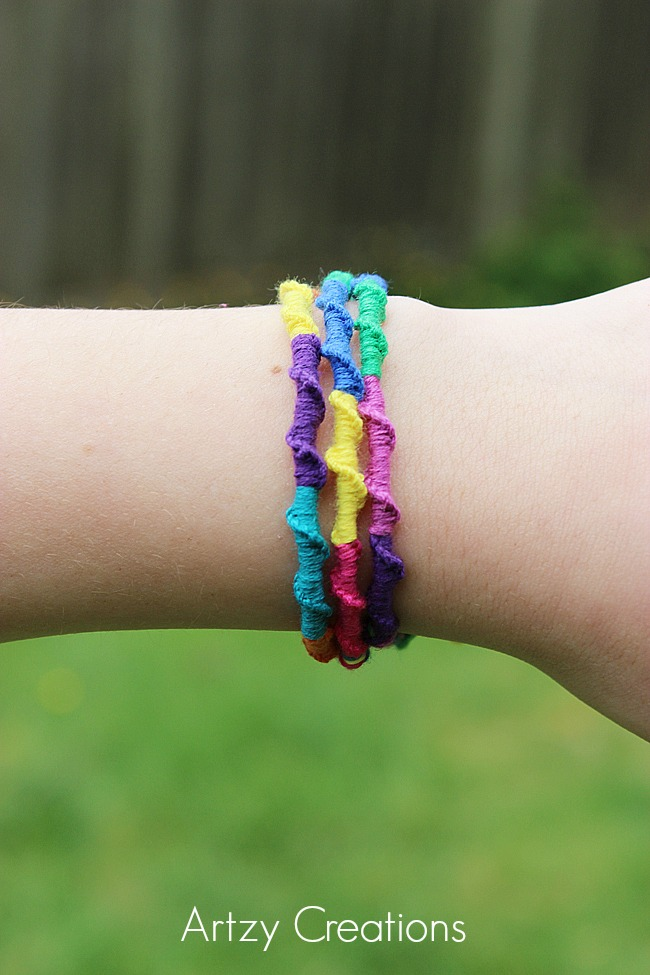 Chinese-Ladder-Friendship-Bracelets 5-Artzy Creations