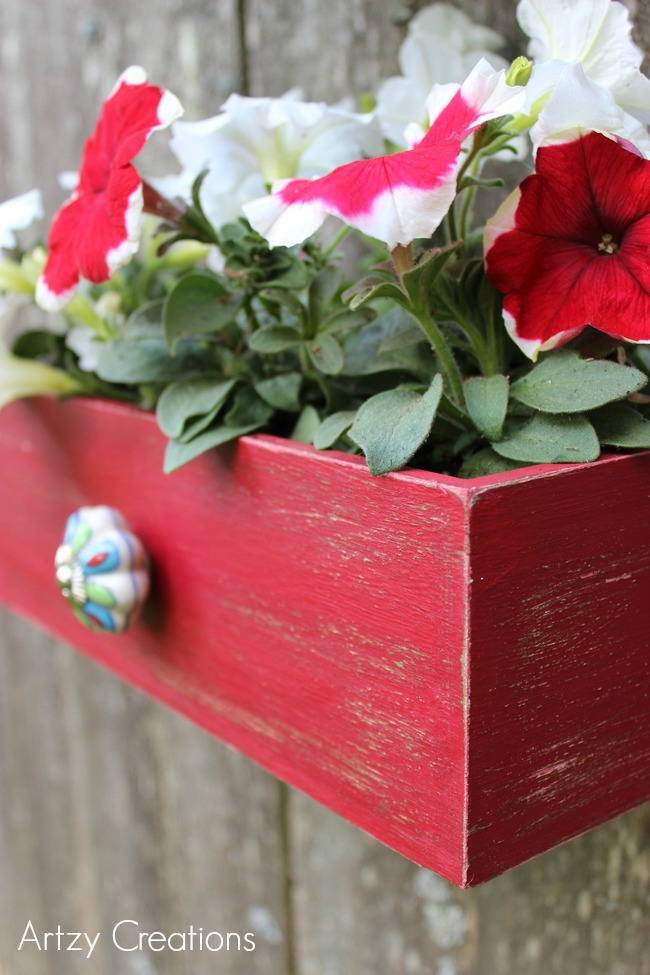 Faux-Drawer-Planters-with-Chalk-Paint-10Artzy Creations
