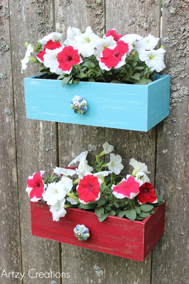 Faux-Drawer-Planters-with-Chalk-Paint-11Artzy Creations
