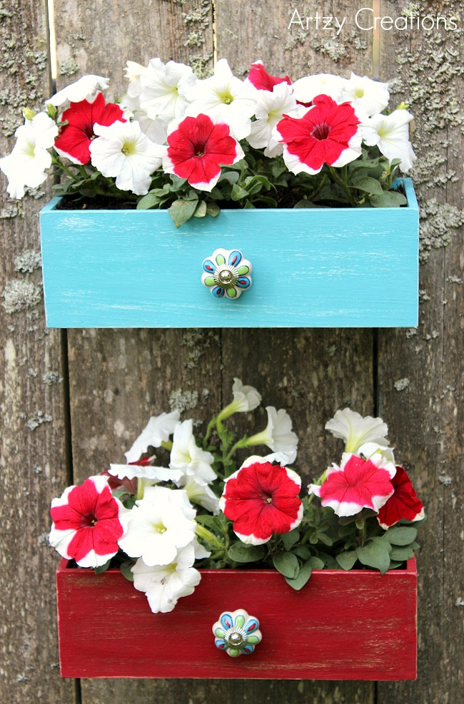 Faux-Drawer-Planters-with-Chalk-Paint-13Artzy Creations
