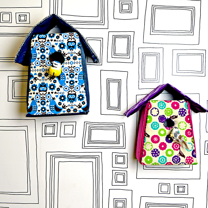 Birdhouses-wallpaper