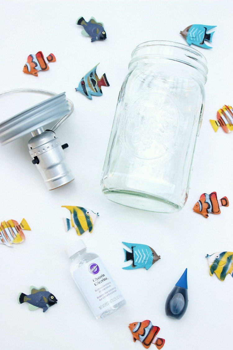 DIY-Mason-Jar-Aquarium-Lamp-Artzy Creations 5