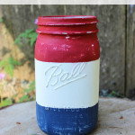 Rustic 4th of July Mason Jar