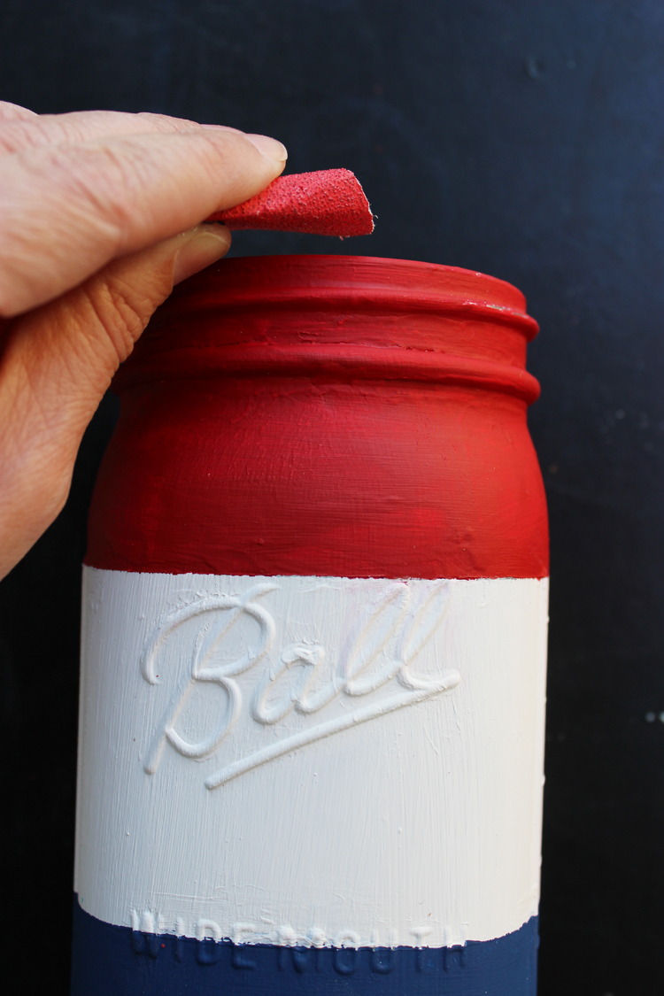 Distressed-4th-of-July-Painted-Mason-Jar-Crafts-Unleashed-6
