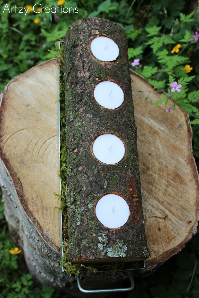 Log-Candle-Holder-Artzy Creations 3