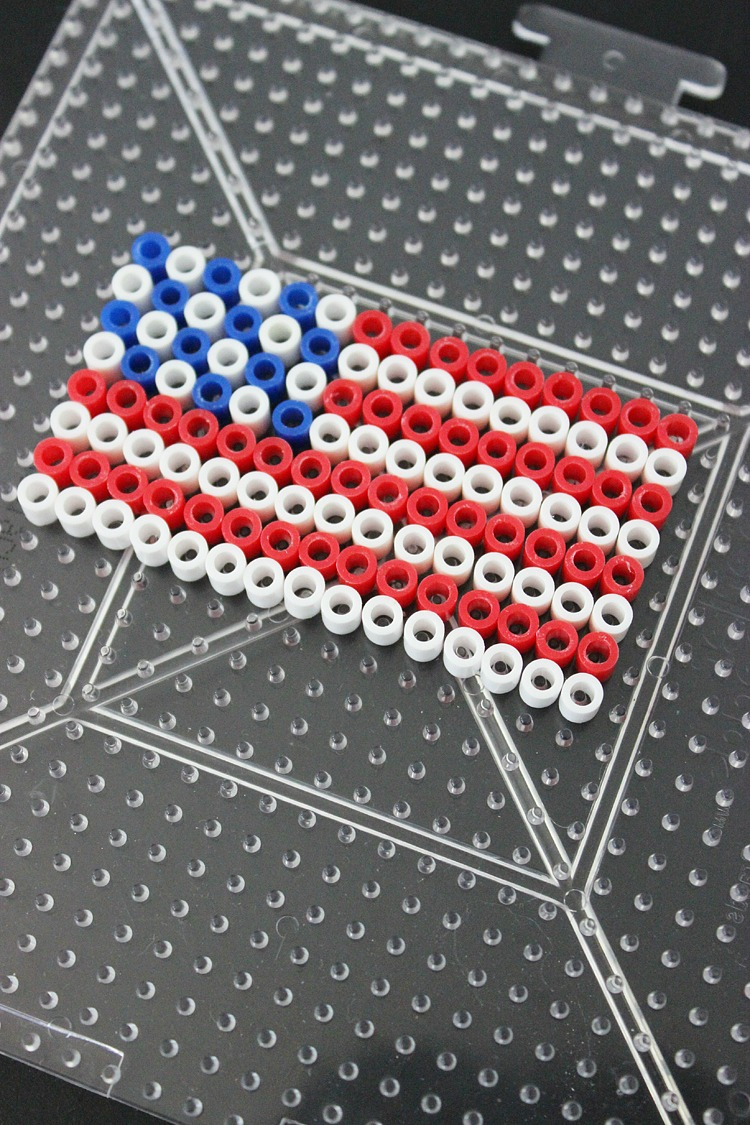 4th-of-July-Perler-Bead-Headband-Artzy Creations 2