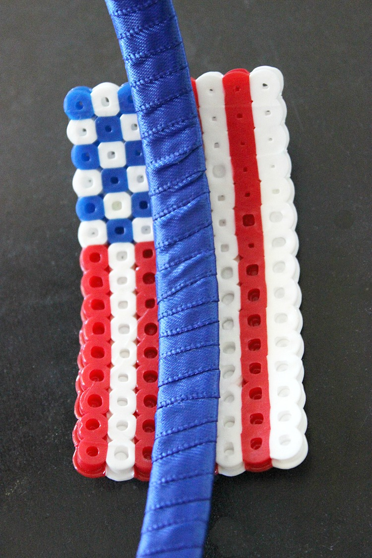 4th-of-July-Perler-Bead-Headband-Artzy Creations 5