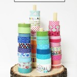 Easy Rustic Washi Tape Holder