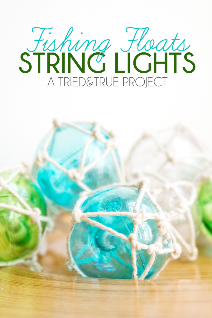 fishing floats string lights - artzycreations, Reel Combo