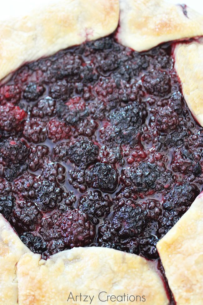 Simple-Blackberry-Galette-Artzy Creations-6