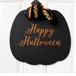DIY Halloween Pumpkin Sign