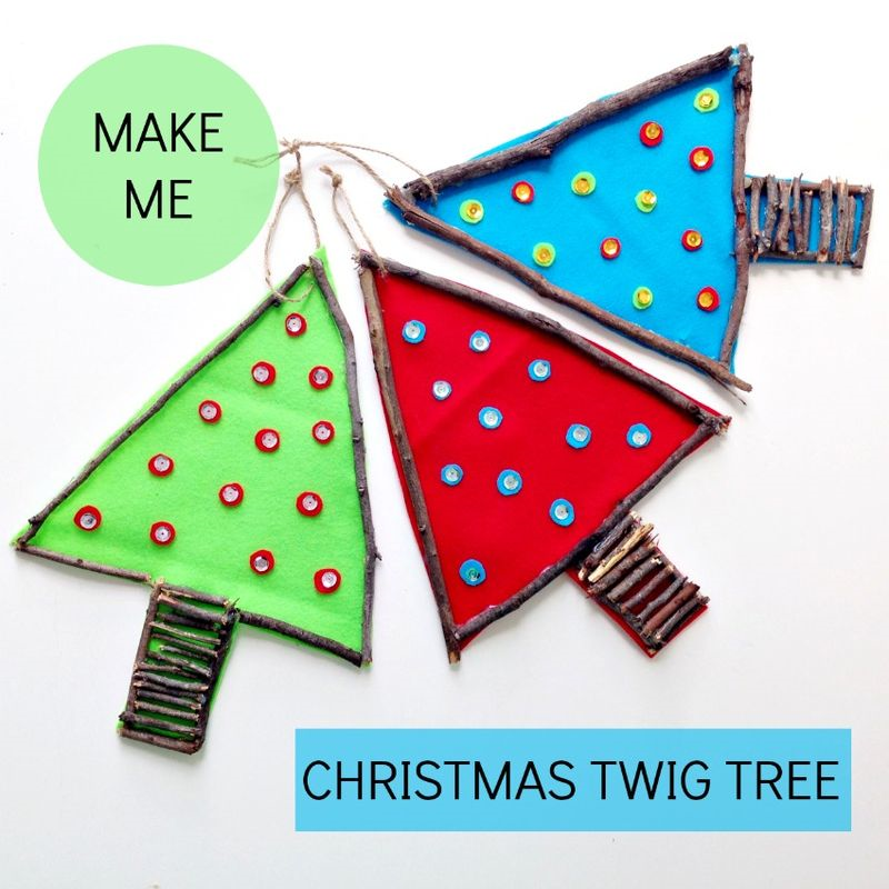 Christmas Twig Tree Ornaments