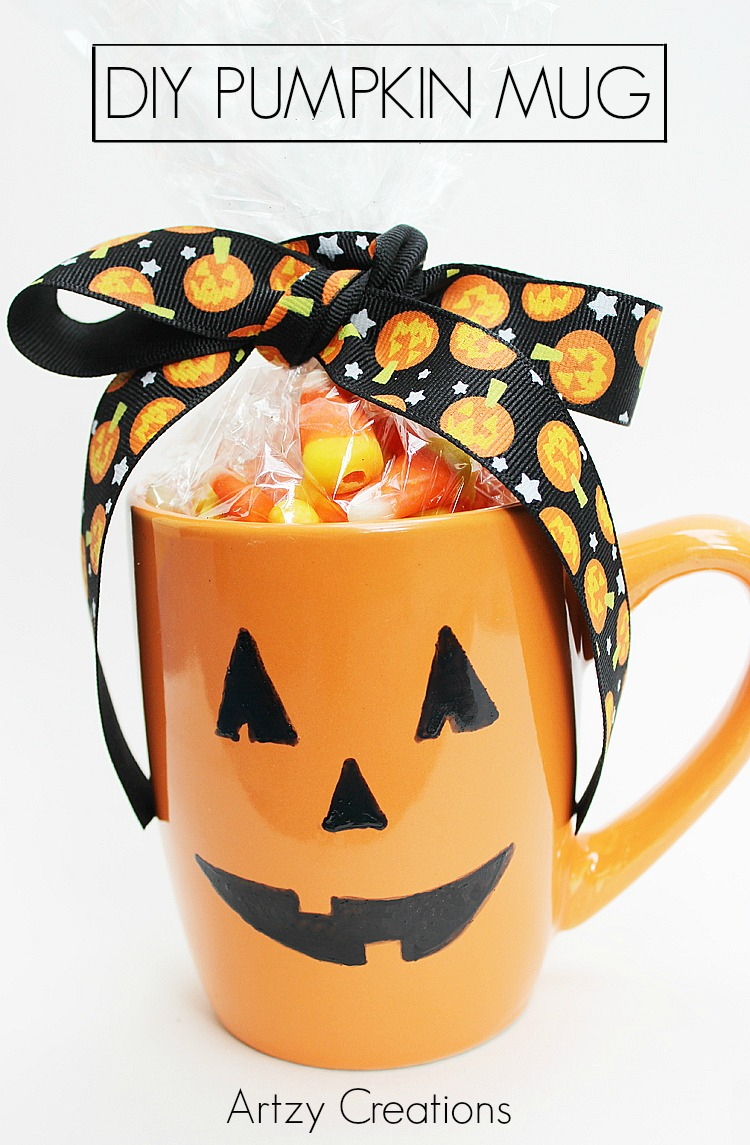 DIY-Pumpkin-Mug-Artzy Creations 3