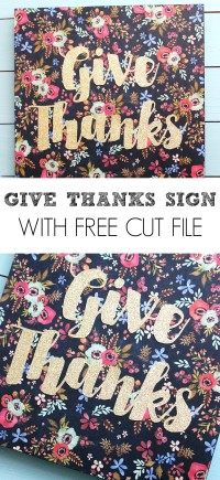 Give Thanks Sign 2