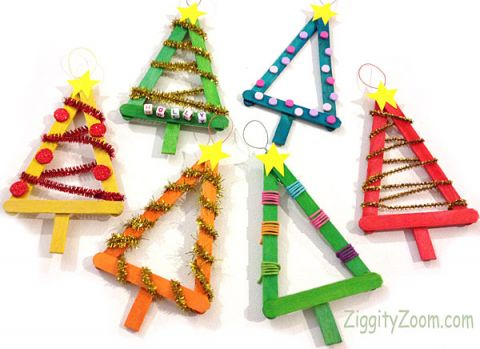 tree ornament - Childrens Christmas Tree Decorations