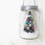 5 Minute Mason Jar Christmas Ornament