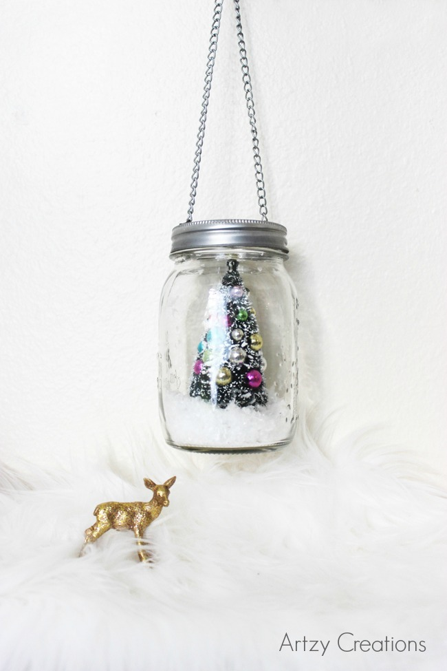 5 Min-Mason-Jar-Christmas-Decor-Artzy Creations 4