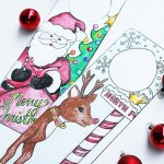 Free Printable Christmas Door Hanger For Kids