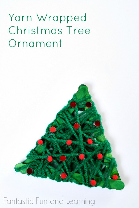 Yarn-Wrapped-Christmas-Tree-Ornament