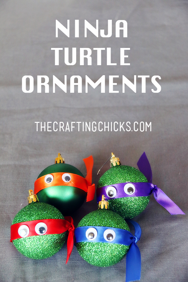 50 diy ornaments for kids artzycreations sm ninja turtle ornaments pin solutioingenieria Images