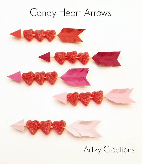Candy Heart Arrows