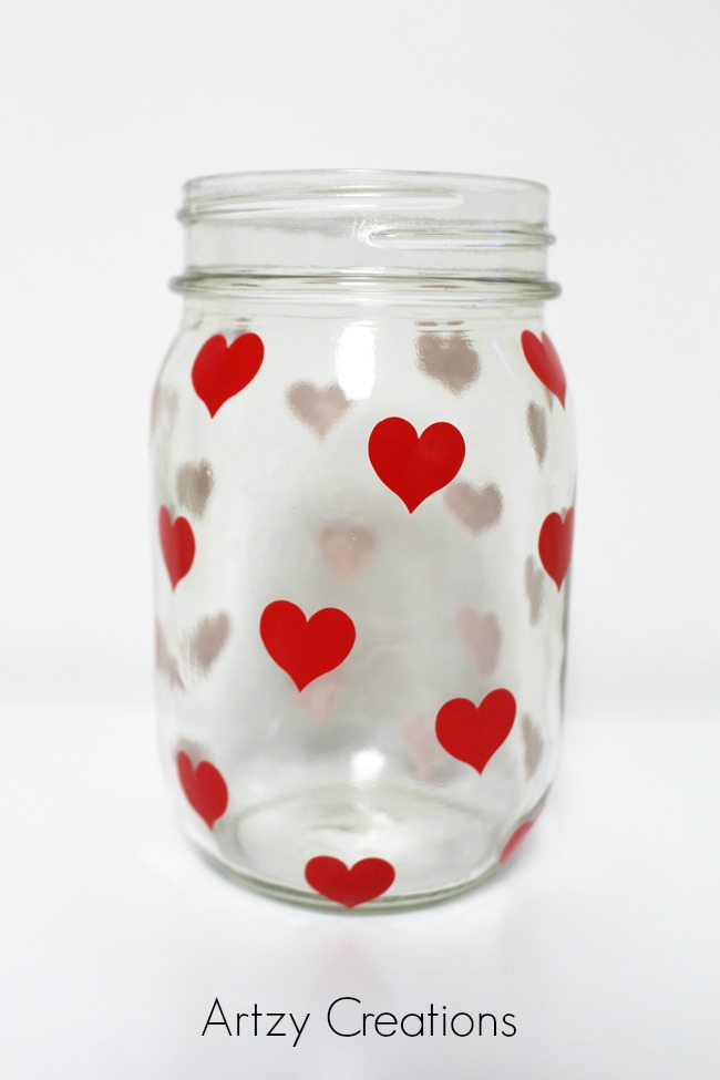 Easy-DIY-Valentine's Day-Votive-Artzy Creations 2