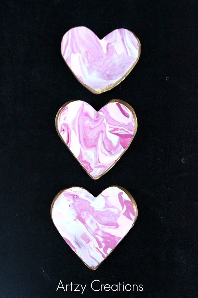 Marbled-Heart-Ring-Dishes-Artzy Creations 4